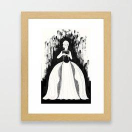 Princess Amber Framed Art Print