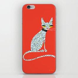 Wild House Cat iPhone Skin