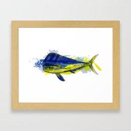 El Dorado, Dolphin, Mahi Mahi Framed Art Print