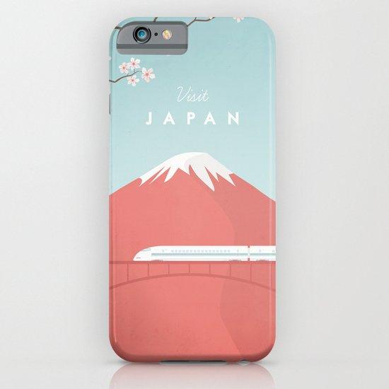 Vintage Japan Travel Poster iPhone & iPod Case