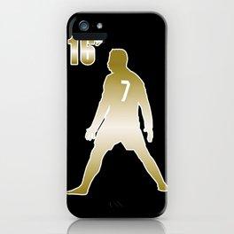 CR7 GOLD iPhone Case