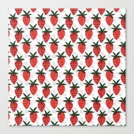 the strawberrys Canvas Print