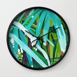 Botanical Garden 2 Wall Clock