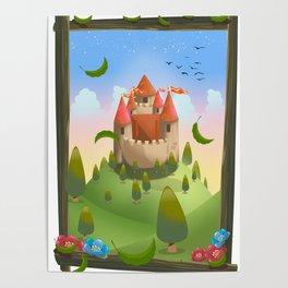 Cartoon Castle, Poster