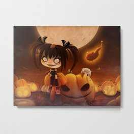 Halloween Hysteria Metal Print
