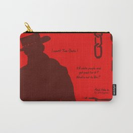 Vector Django Unchained Carry-All Pouch