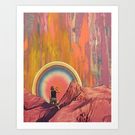 Pulling The Cosmic Tooth Art Print