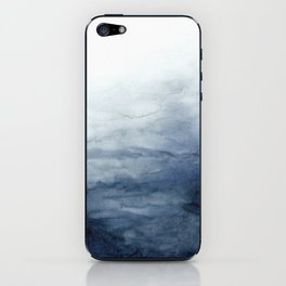 Indigo Abstract Painting | No.2 iPhone Skin