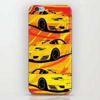 porsche iPhone & iPod Skins featuring Porsche  by deadfish