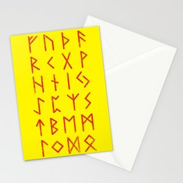 Elder Futhark Stationery Cards