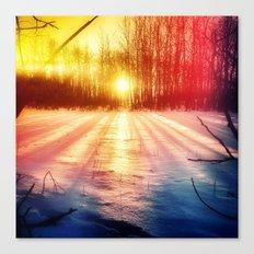 Take The Prismatic Path (001) Canvas Print