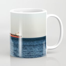 Cargo Ship Seascape Coffee Mug