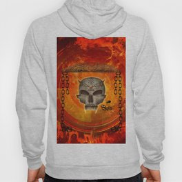 Awesome skull with celtic know Hoody