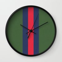 gucci Wall Clocks featuring Remember Classic Gucci by MW. [by Mathius Wilder]