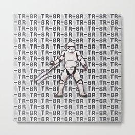 TR-8R Stormtrooper Metal Print
