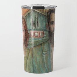 My American Gothic Travel Mug