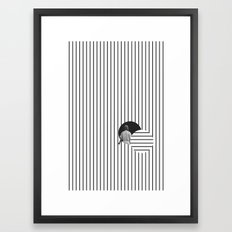 Into the Void Framed Art Print