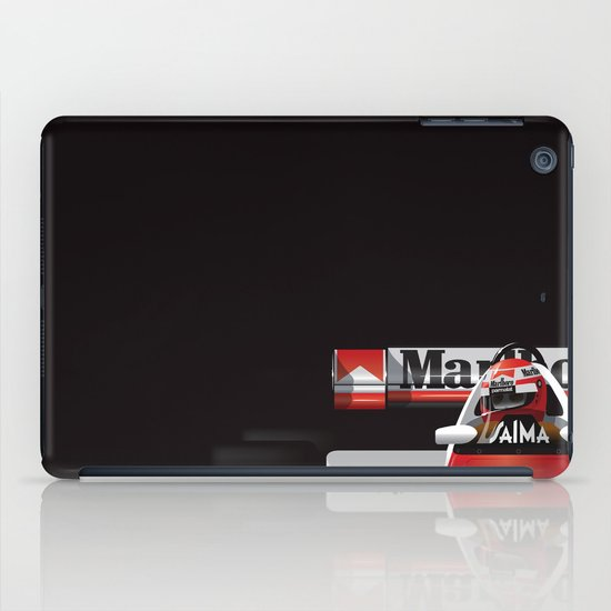 Niki Lauda, McLaren MP4/2 TAG Porsche, 1984 iPad Case