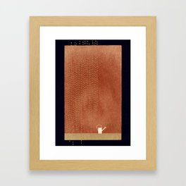 Yourself And Another Rhythm Framed Art Print