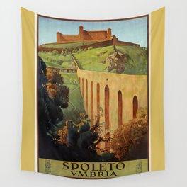 Spoleto Umbria 1927 Wall Tapestry