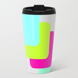 colourful division Travel Mug