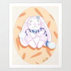Bunneh Art Print