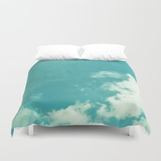 CLOUDY AND CLEAR Duvet Cover