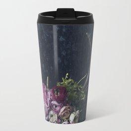 Antlers + Flowers Travel Mug