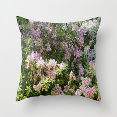 Floral Me This Throw Pillow