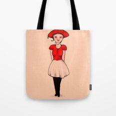 French Girl II Tote Bag