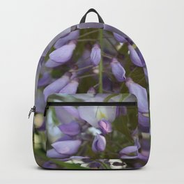 Wisteria Petals and Leaves Backpack