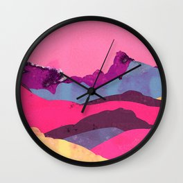 Candy Mountain Wall Clock