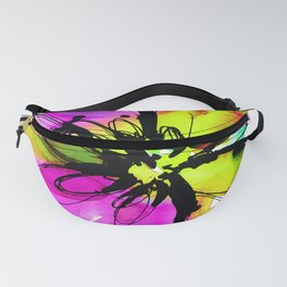 Ecstasy Bloom No.17e by Kathy Morton Stanion Fanny Pack