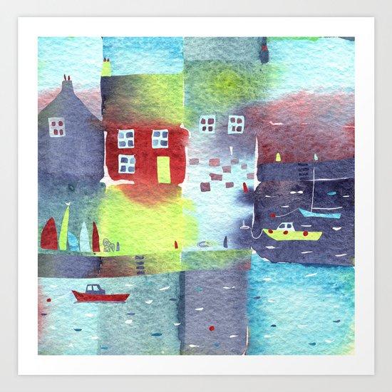 Quiet Harbour Art Print