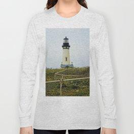 Yaquina Head Lighthouse Long Sleeve T-shirt