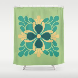 The Bright Side Shower Curtain