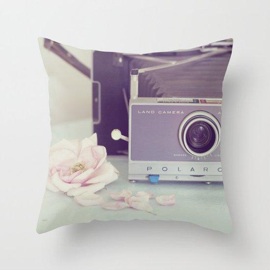 Polaroid, I Love You Throw Pillow