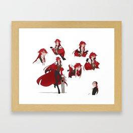 Full Grell Sutcliff Framed Art Print
