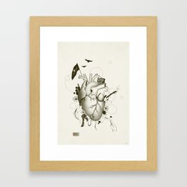 I Love Design Framed Art Print