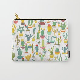 Cactuses in Pots Carry-All Pouch