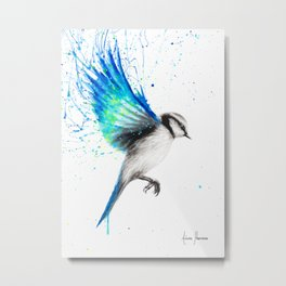 Tropical Oasis Bird Metal Print