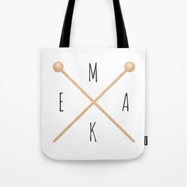 MAKE  |  Knitting Needles Tote Bag