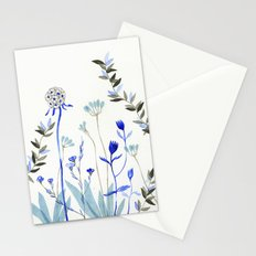 Blue Garden Stationery Cards