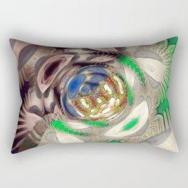 Mix of Mutated Patterns Rectangular Pillow