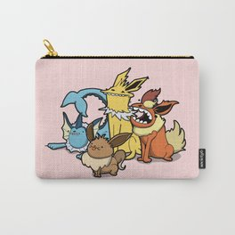 Pokémon - Number 133, 134, 135 and 136 Carry-All Pouch