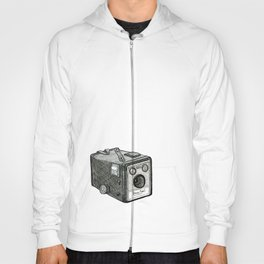 Kodak Box Brownie Camera Illustration Hoody