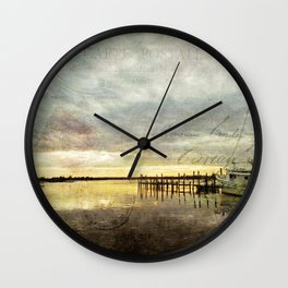 French Country Wall Clock
