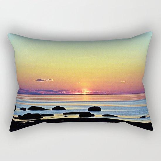 Summer's Glow Rectangular Pillow