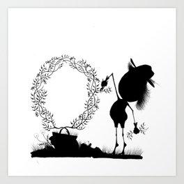 The Letter O Art Print