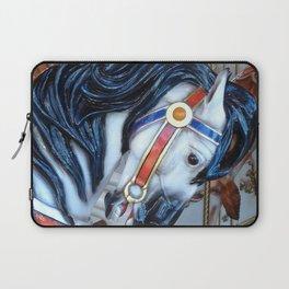 Carousel Horses Carnival Merry Go Round Horses Laptop Sleeve